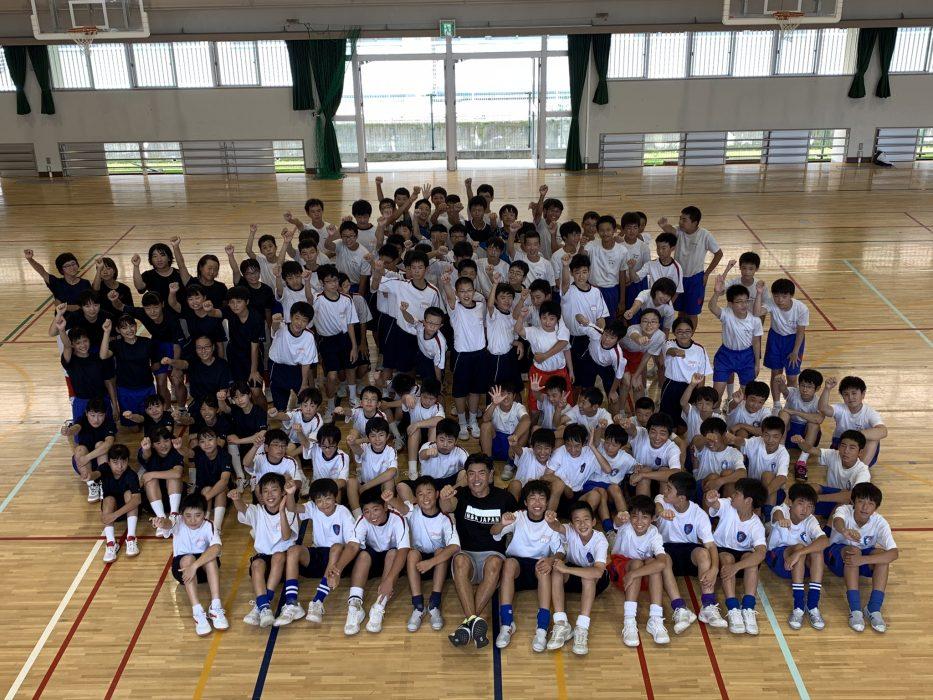 安室中学校運動部・リズムフィットトレーニング