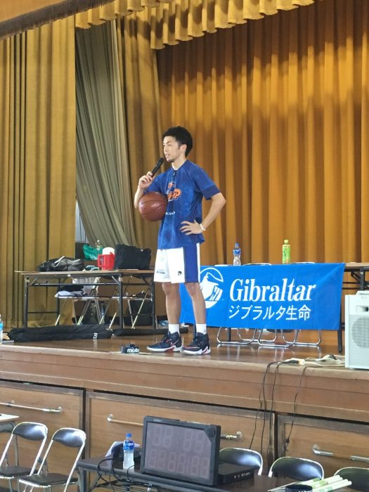 2018.8.24 RHYTHM BASKETBALL を実施。
