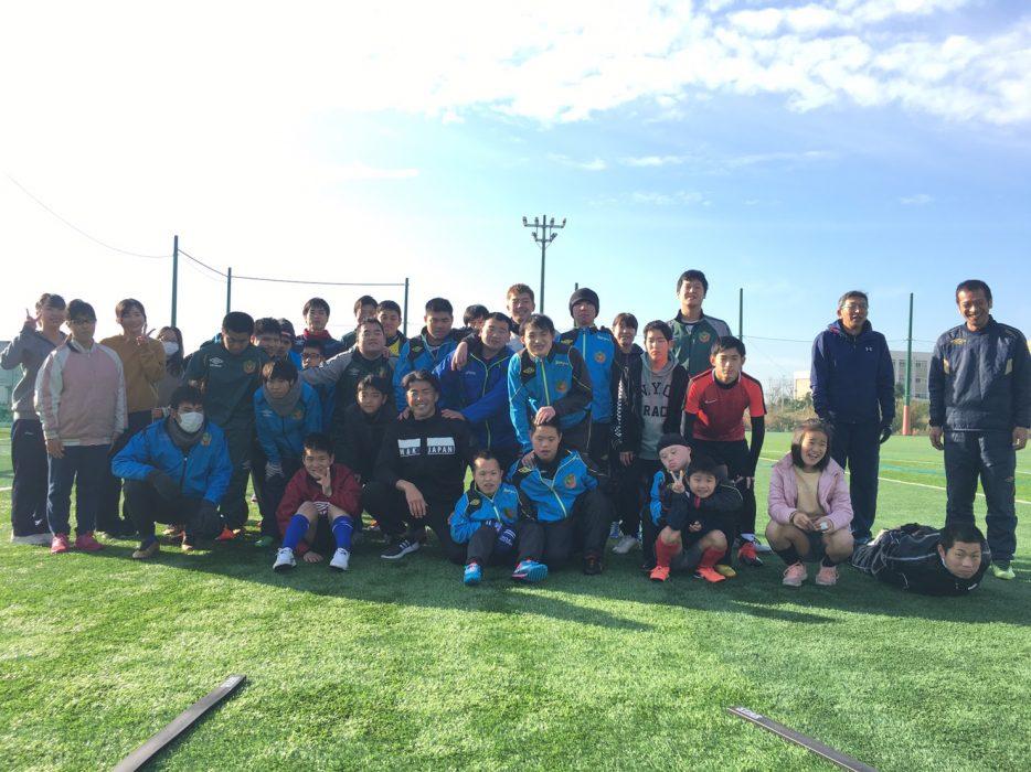 湖北工業プレゼンツ 第10回デフサッカー教室にて実施